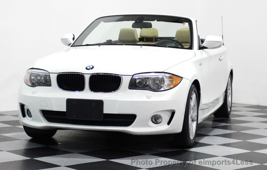 2013 BMW 1 Series CERTIFIED 128i CONVERTIBLE PREMIUM / COLD - 15634511 - 27