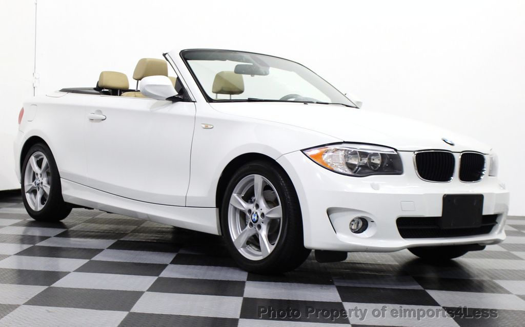 2013 BMW 1 Series CERTIFIED 128i CONVERTIBLE PREMIUM / COLD - 15634511 - 28