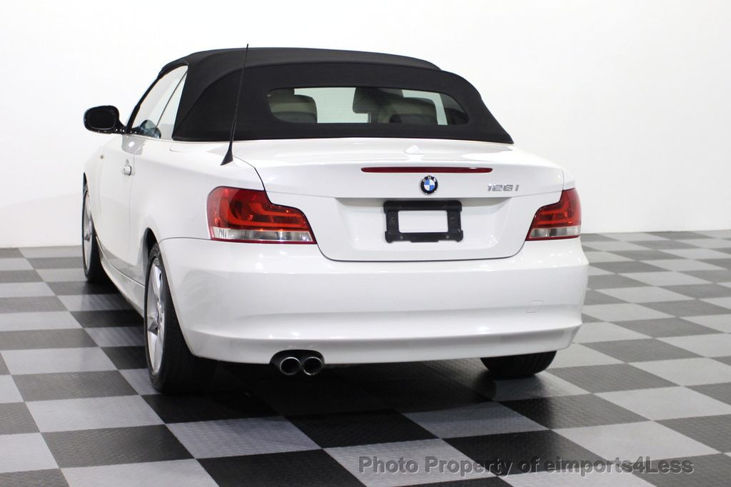 2013 BMW 1 Series CERTIFIED 128i CONVERTIBLE PREMIUM / COLD - 15634511 - 2