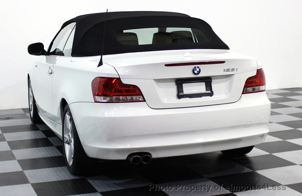 2013 BMW 1 Series CERTIFIED 128i CONVERTIBLE PREMIUM / COLD - 15634511 - 29