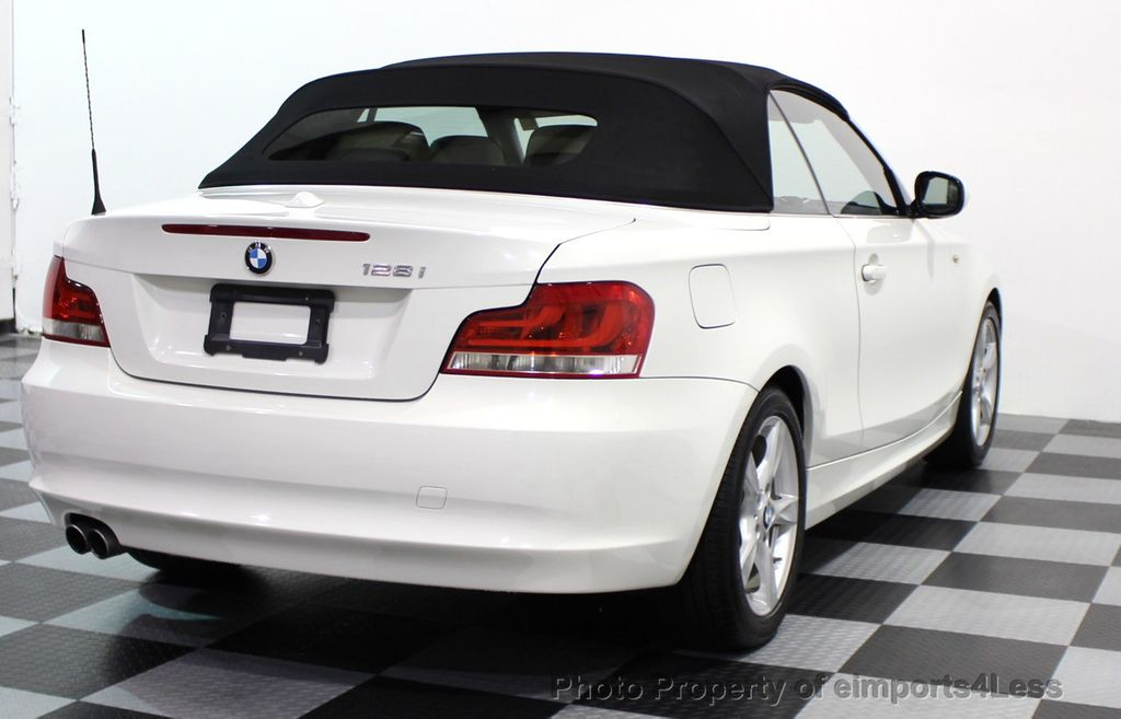 2013 BMW 1 Series CERTIFIED 128i CONVERTIBLE PREMIUM / COLD - 15634511 - 30