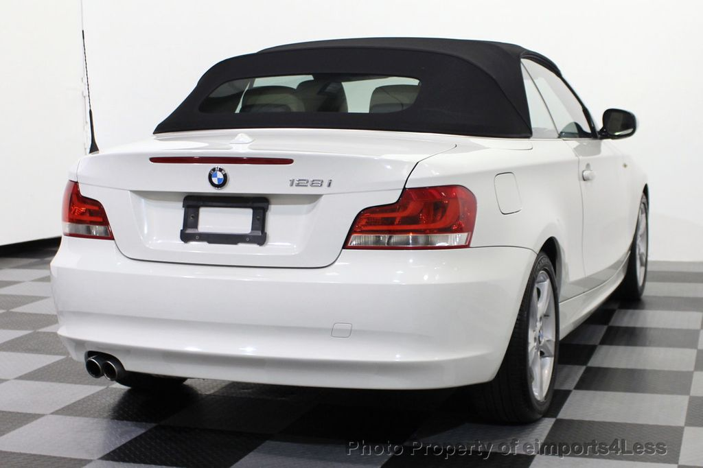 2013 BMW 1 Series CERTIFIED 128i CONVERTIBLE PREMIUM / COLD - 15634511 - 3