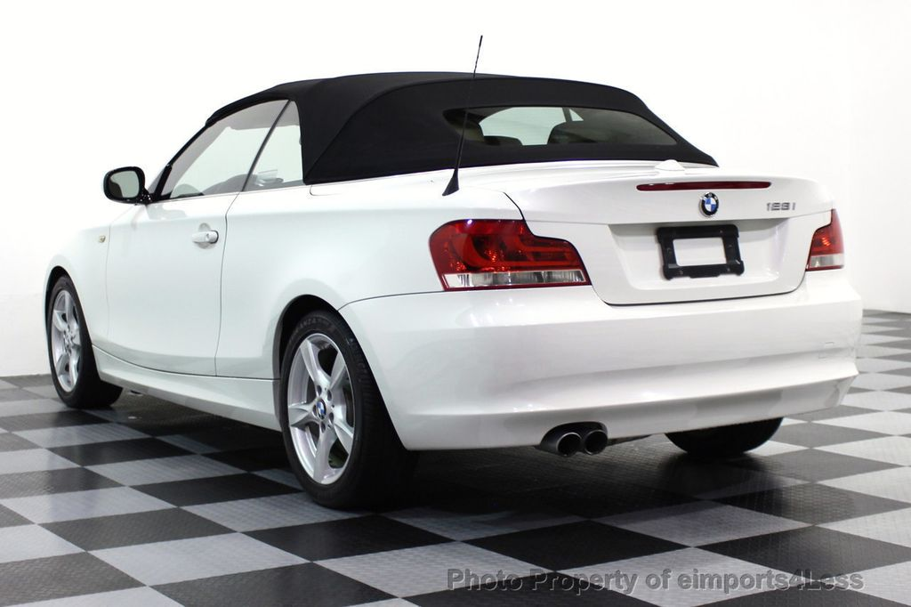 2013 BMW 1 Series CERTIFIED 128i CONVERTIBLE PREMIUM / COLD - 15634511 - 39