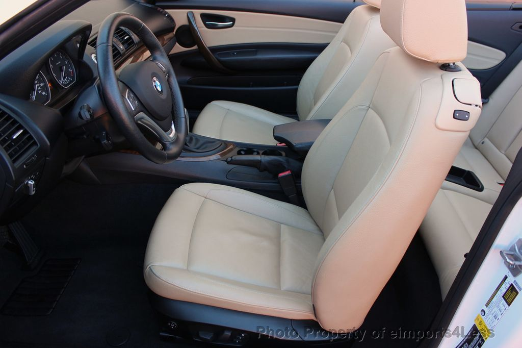 2013 BMW 1 Series CERTIFIED 128i CONVERTIBLE PREMIUM / COLD - 15634511 - 46