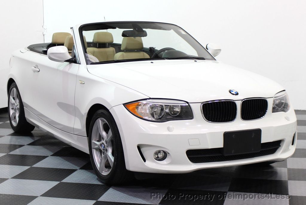 2013 BMW 1 Series CERTIFIED 128i CONVERTIBLE PREMIUM / COLD - 15634511 - 53
