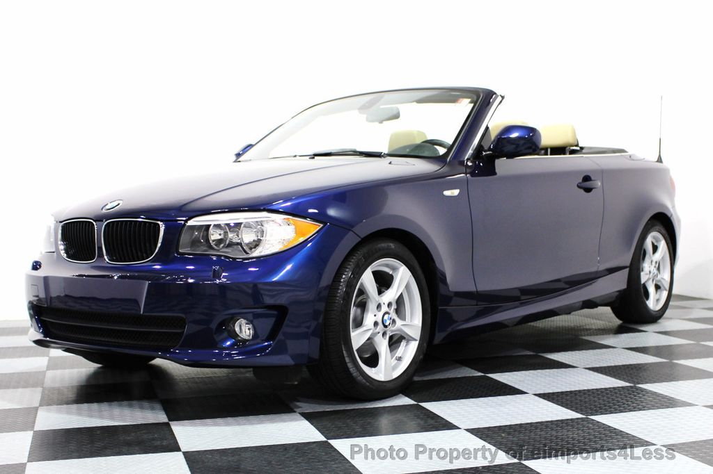 2013 used bmw 1 series certified 128i convertible premium navigation at eimports4less serving. Black Bedroom Furniture Sets. Home Design Ideas