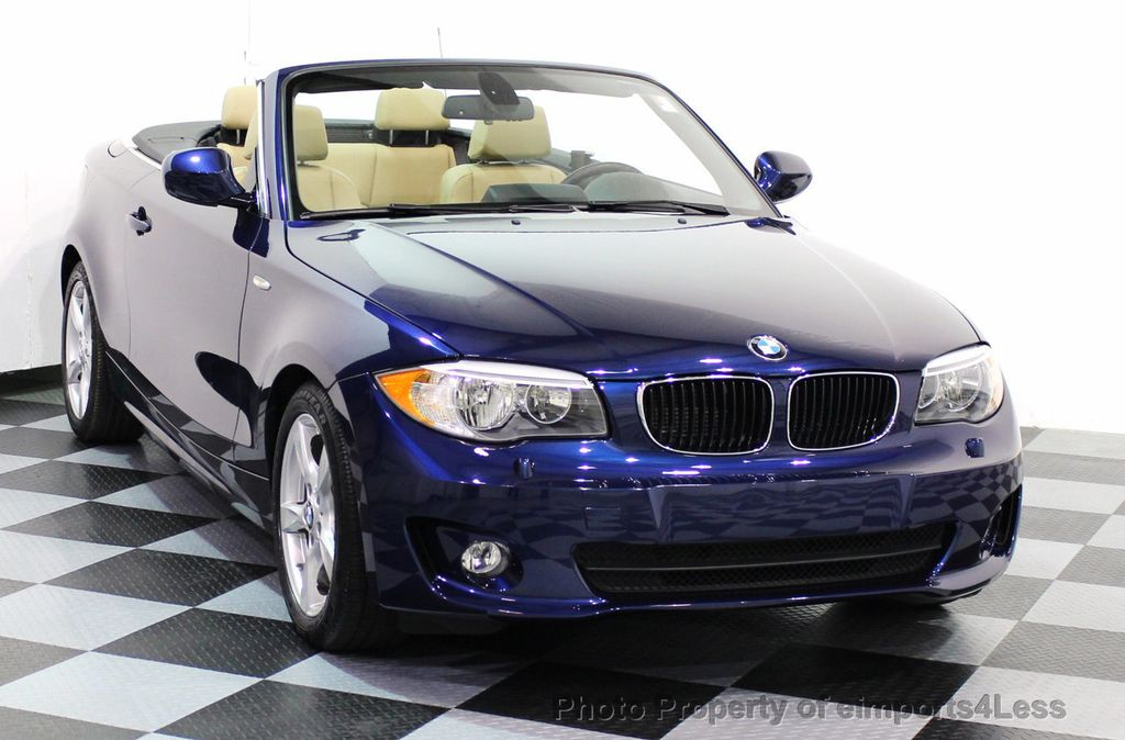 Used BMW Series CERTIFIED I CONVERTIBLE PREMIUM - 2012 bmw 128i convertible