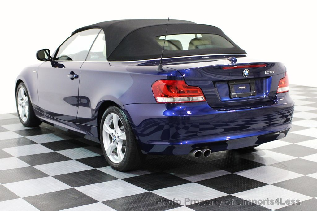 2013 Used BMW 1 Series CERTIFIED 128i CONVERTIBLE PREMIUM