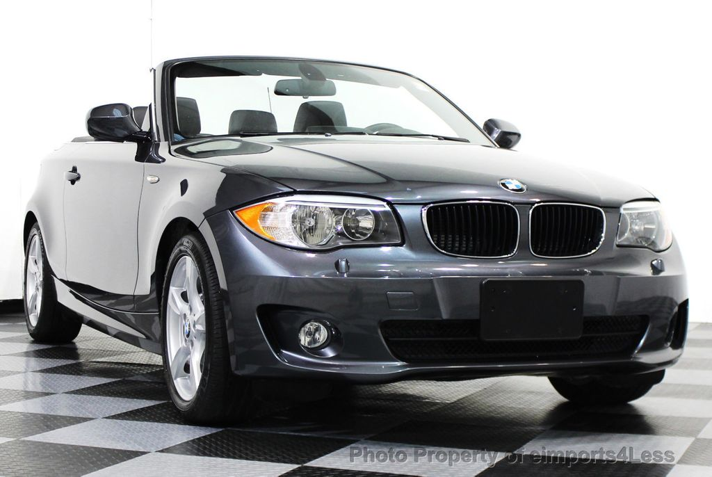 2013 used bmw 1 series certified 128i convertible premium tech navigation at eimports4less. Black Bedroom Furniture Sets. Home Design Ideas