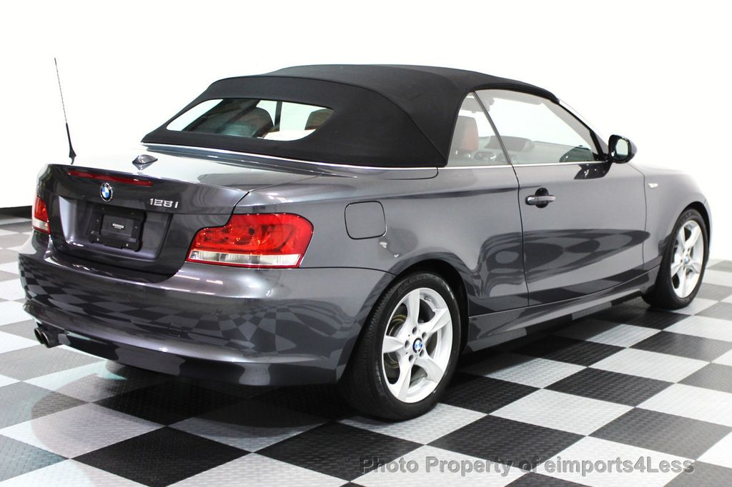 2013 Used Bmw 1 Series Certified 128i Convertible Tech