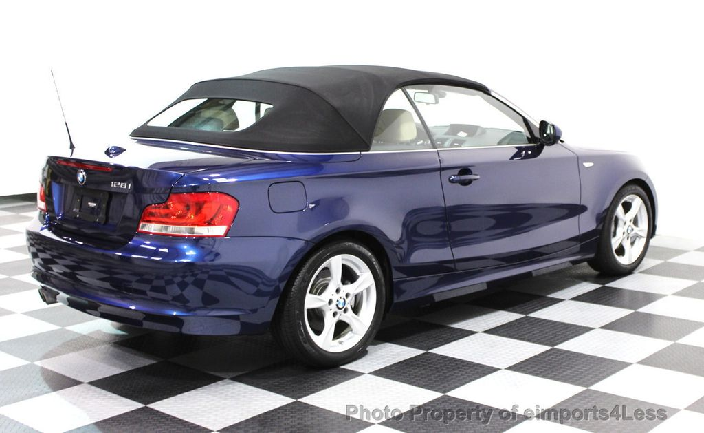 2013 used bmw 1 series certified 128i convertible tech navigation at eimports4less serving. Black Bedroom Furniture Sets. Home Design Ideas