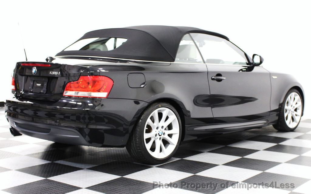 2013 Used Bmw 1 Series Certified 135i Convertible 6 Speed