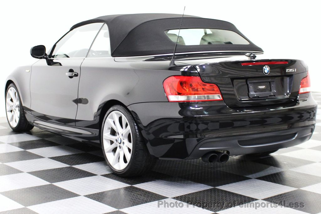 Used BMW Series CERTIFIED I CONVERTIBLE SPEED - 2012 bmw 135i convertible