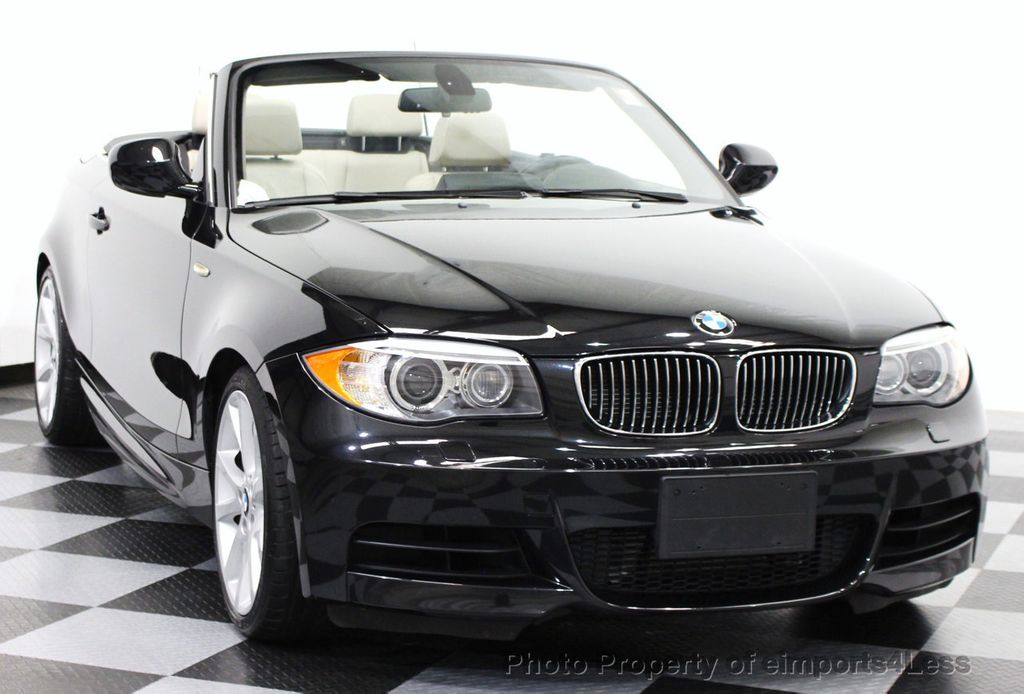 2013 used bmw 1 series certified 135i convertible 6 speed navigation at eimports4less serving. Black Bedroom Furniture Sets. Home Design Ideas
