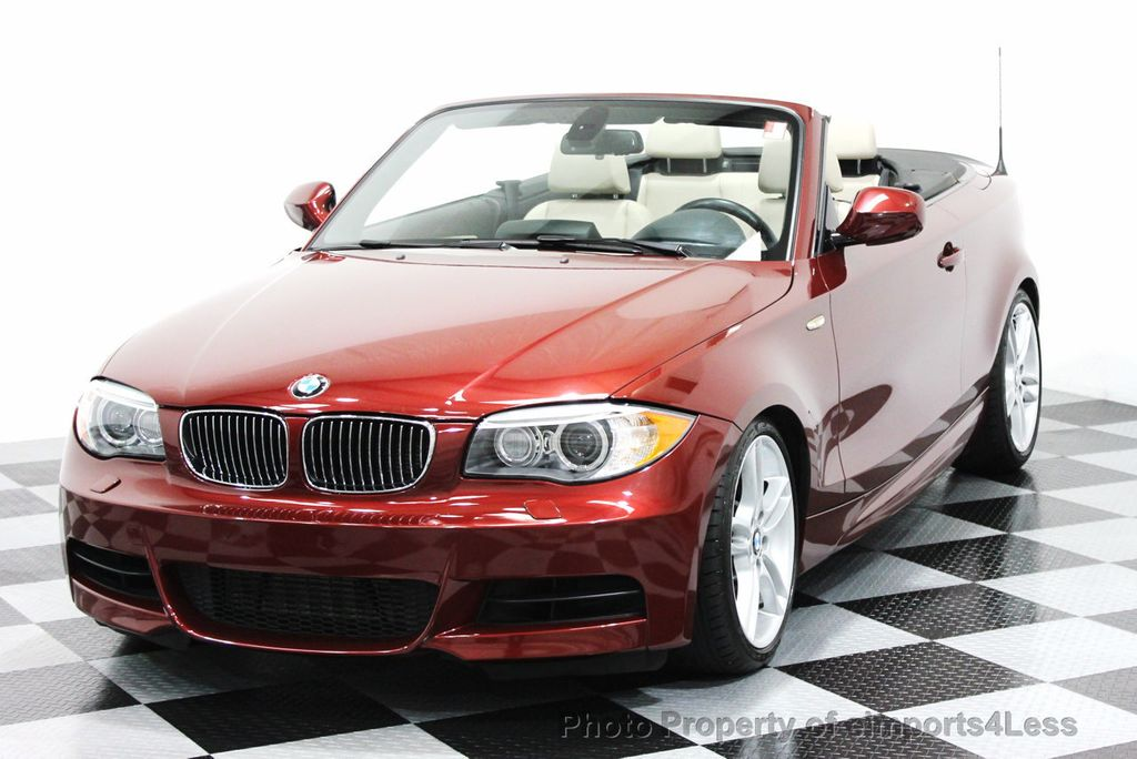 2013 used bmw 1 series certified 135i m sport convertible tech navigation at eimports4less. Black Bedroom Furniture Sets. Home Design Ideas