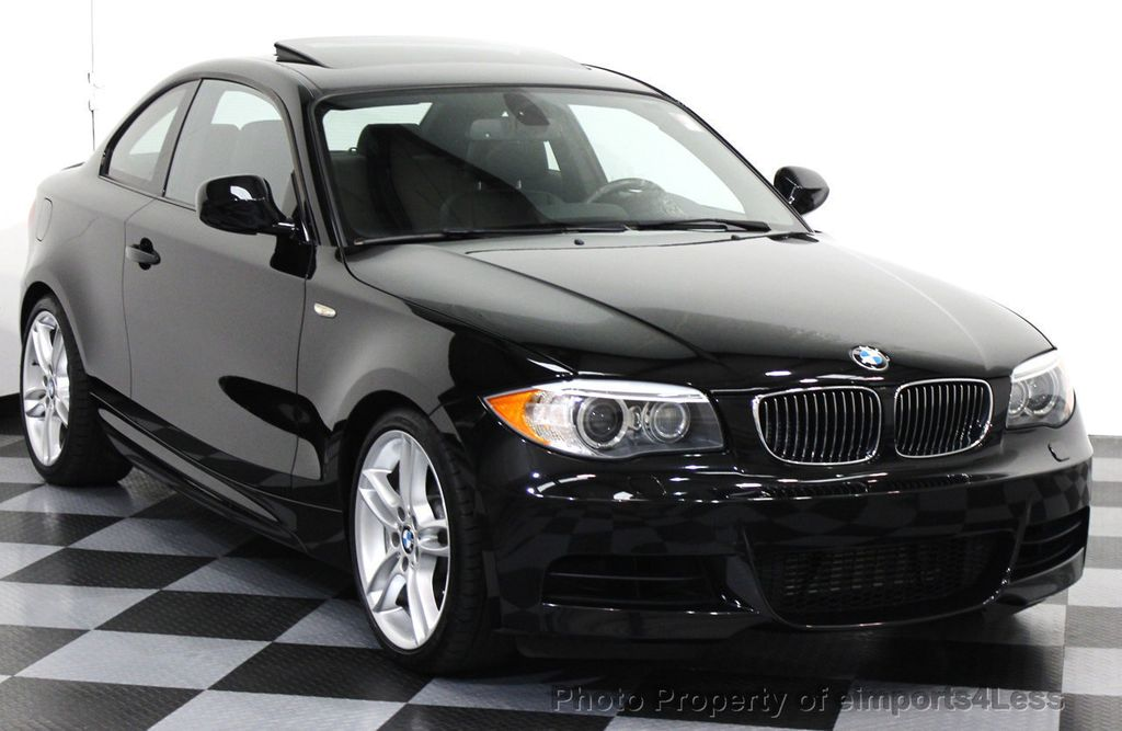 2013 used bmw 1 series certified 135i m sport coupe 6 speed navigation at eimports4less. Black Bedroom Furniture Sets. Home Design Ideas