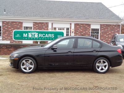 2013 BMW 3 Series ABSOLUTELY PRISTINE W/ NAV, AWD AND BLACK ON BLACK! Sedan