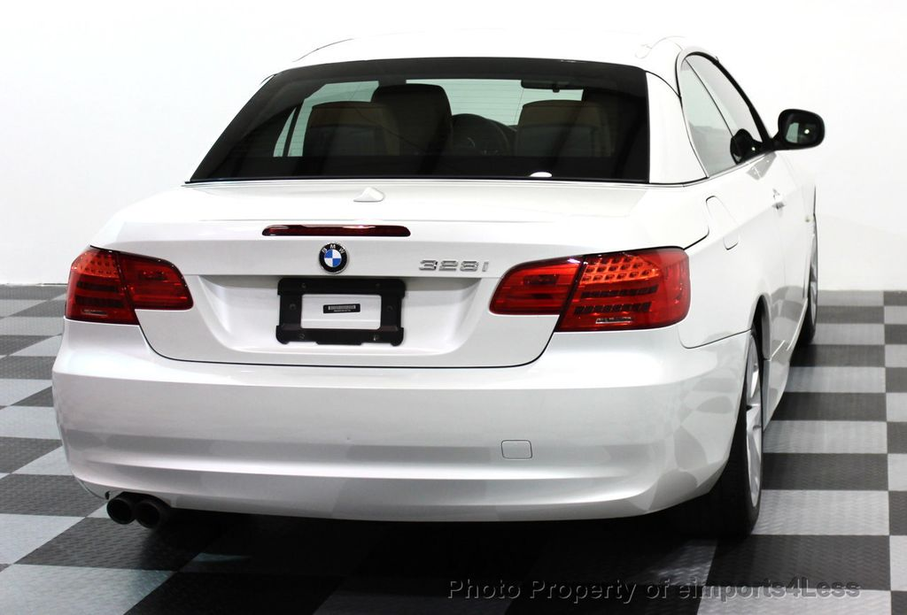2013 BMW 3 Series CERTIFIED 328i CONVERTIBLE NAVIGATION - 15866785 - 22
