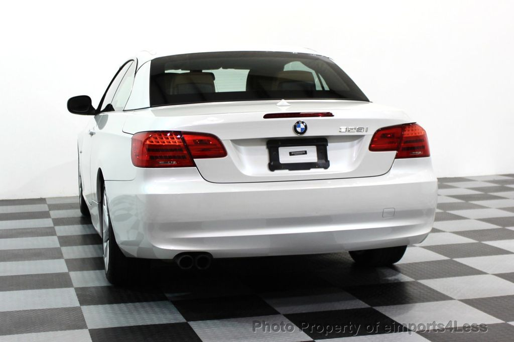 2013 BMW 3 Series CERTIFIED 328i CONVERTIBLE NAVIGATION - 15866785 - 28