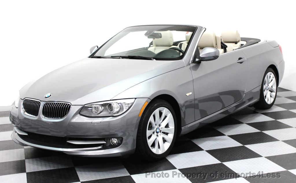 2013 BMW 3 Series CERTIFIED 328i CONVERTIBLE NAVIGATION - 16212542 - 0