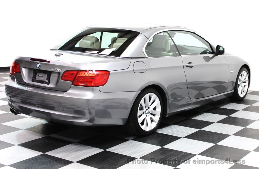 2013 BMW 3 Series CERTIFIED 328i CONVERTIBLE NAVIGATION - 16212542 - 3