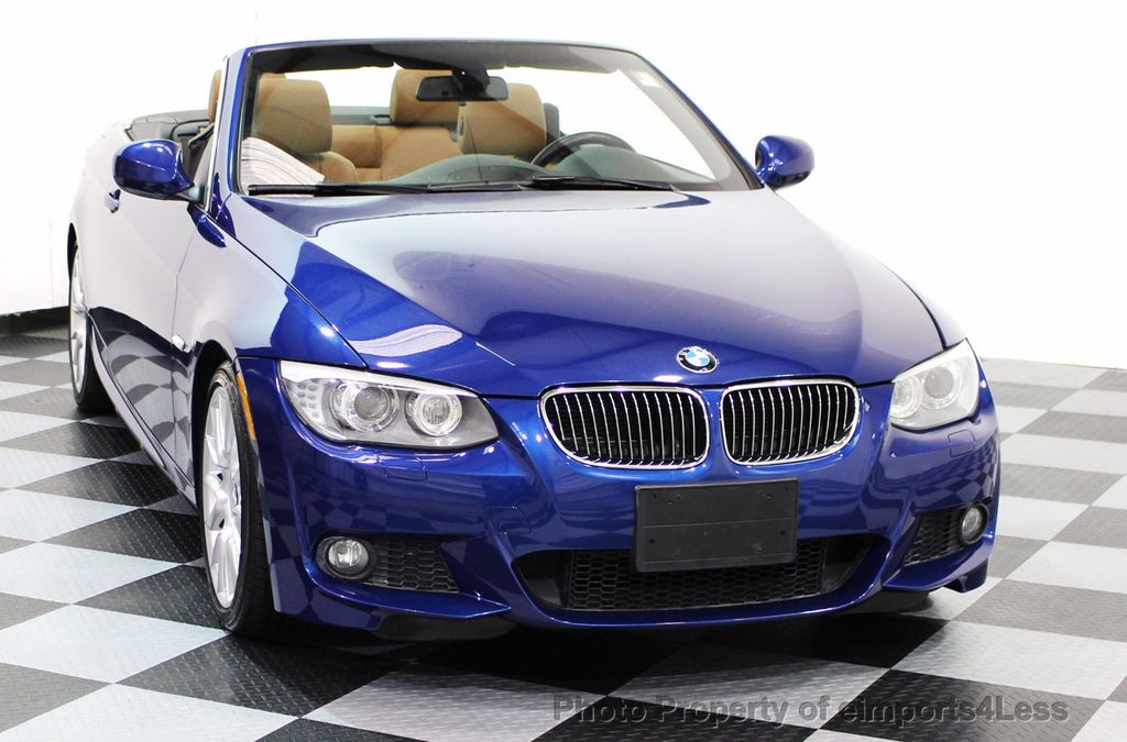 2013 BMW 3 Series CERTIFIED 328i M SPORT CONVERTIBLE NAVIGATION