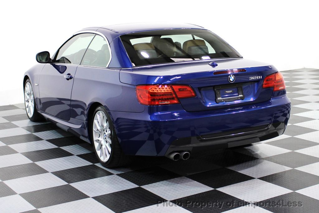 2013 Used BMW 3 Series CERTIFIED 328i M SPORT CONVERTIBLE NAVIGATION ...