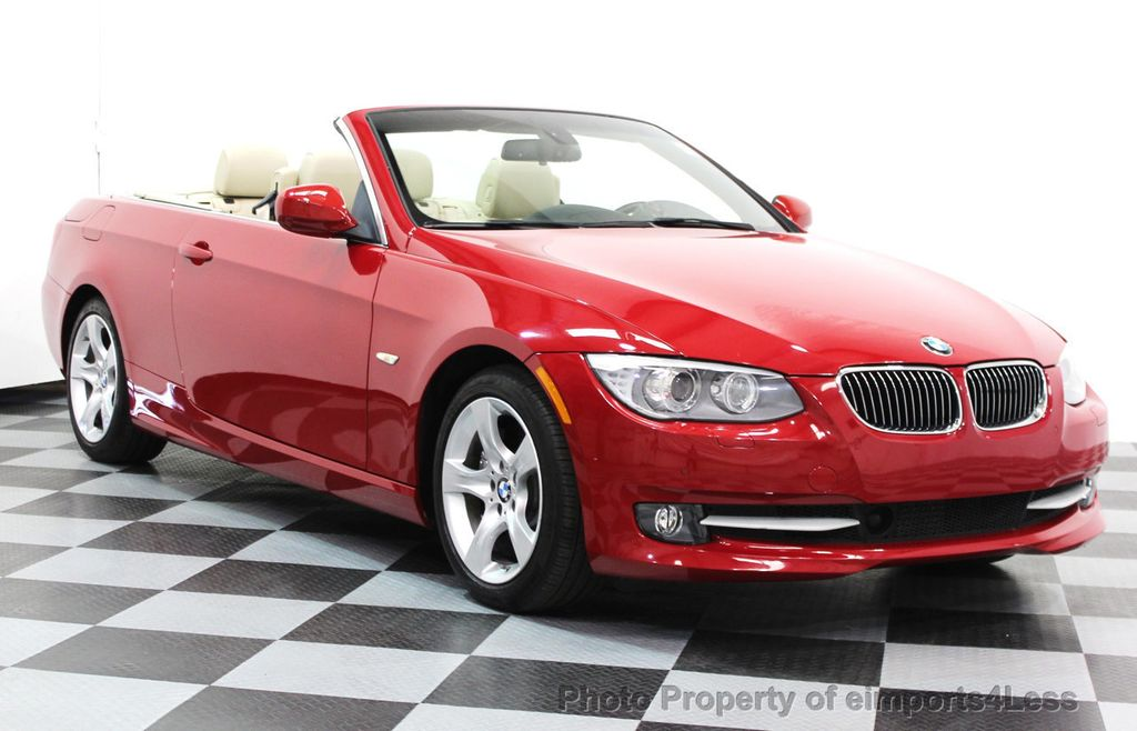Used BMW Series CERTIFIED I CONVERTIBLE ACTIVE CRUISE - 2013 bmw 335i convertible