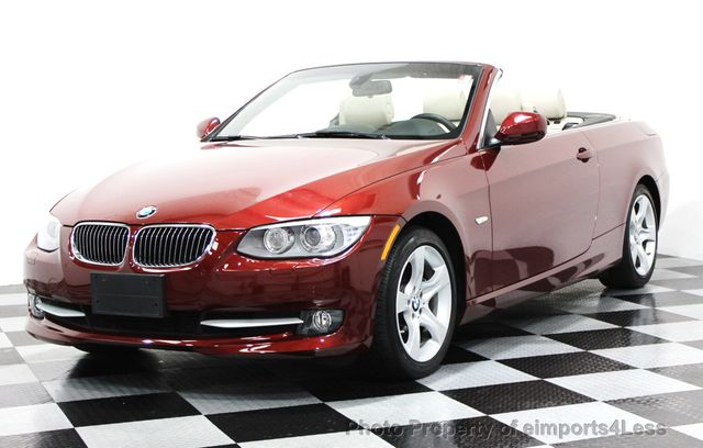 2013 BMW 3 Series CERTIFIED 335i CONVERTIBLE NAVIGATION - 16237481 - 0
