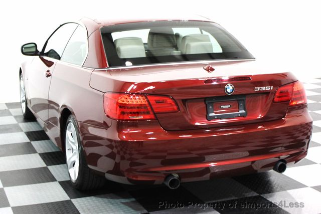 2013 BMW 3 Series CERTIFIED 335i CONVERTIBLE NAVIGATION - 16237481 - 25