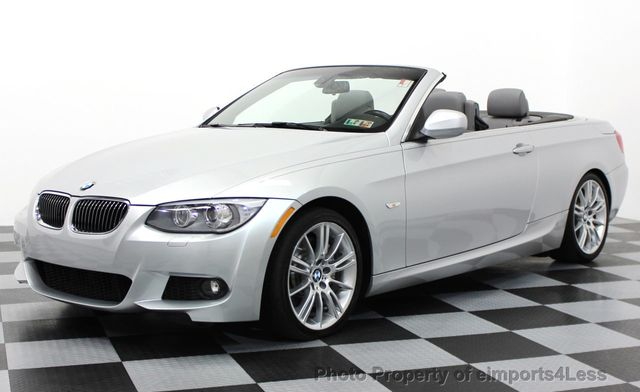 Bmw 335I Convertible >> 2013 Used Bmw 3 Series Certified 335i M Sport 6 Speed Convertible At