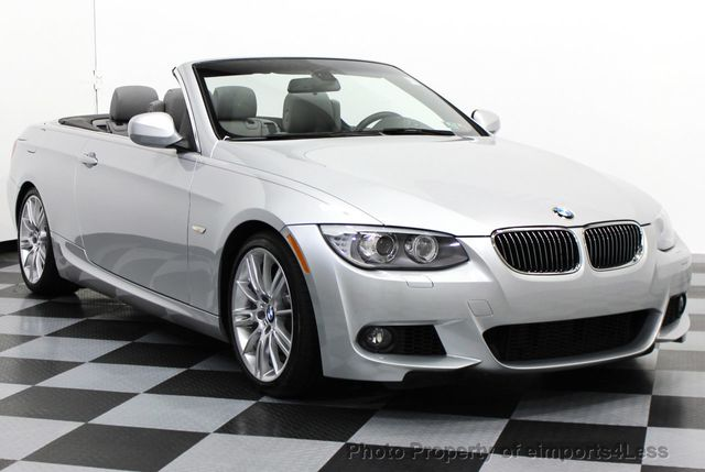 2013 Used BMW 3 Series CERTIFIED 335i M SPORT 6 SPEED CONVERTIBLE