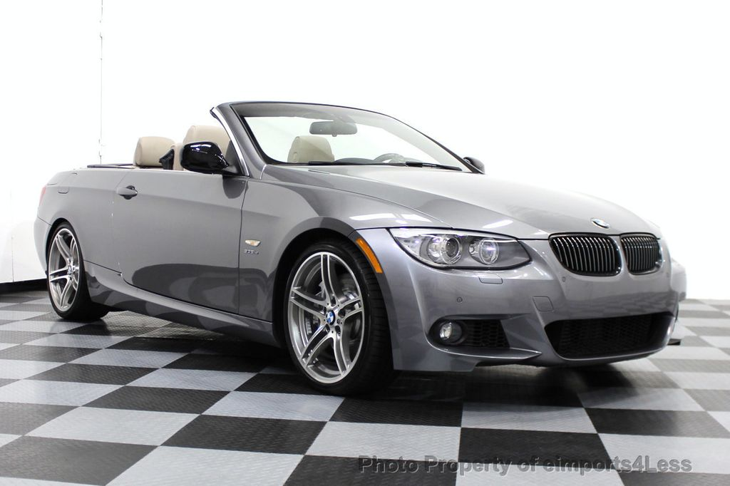 2013 used bmw 3 series certified 335is convertible navigation at