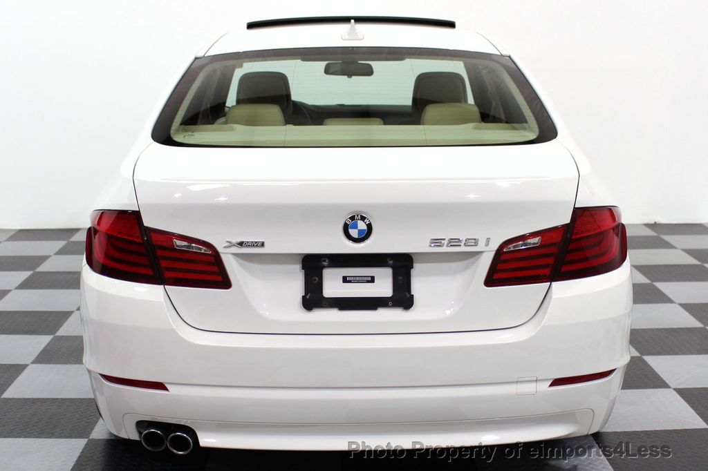 2013 BMW 5 Series CERTIFIED 528i xDRIVE AWD  - 16876508 - 27
