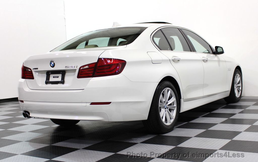 2013 BMW 5 Series CERTIFIED 528i xDRIVE AWD  - 16876508 - 47