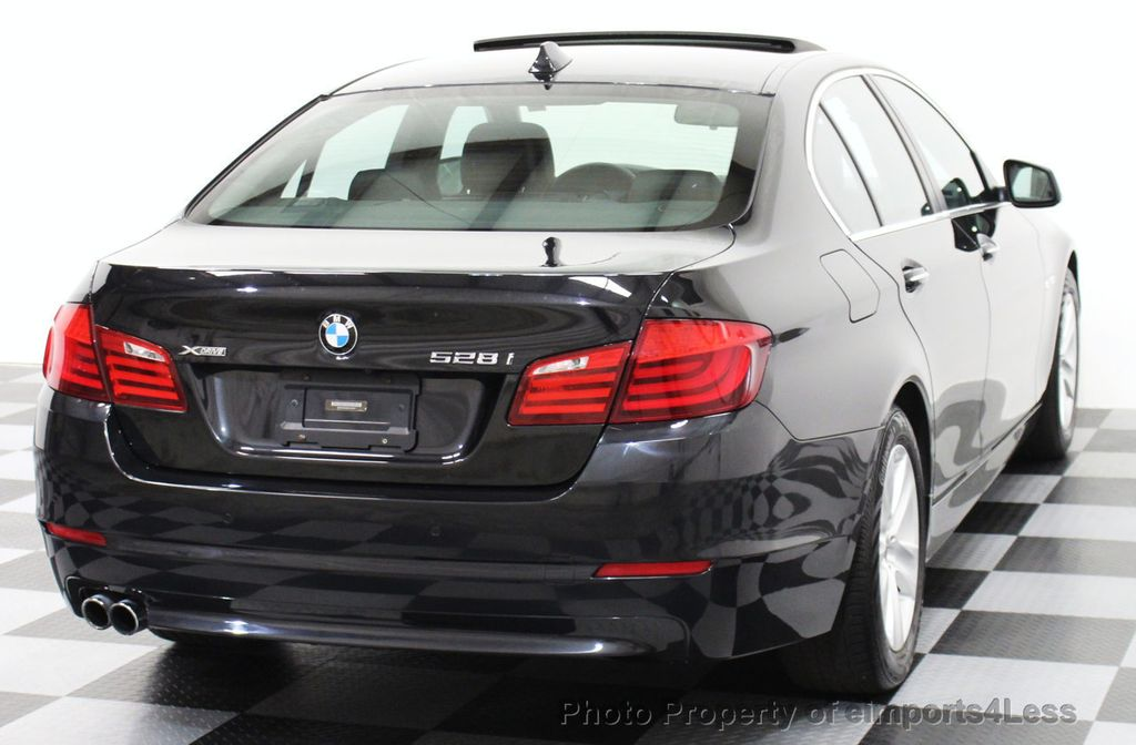 2013 BMW 5 Series CERTIFIED 528i xDRIVE AWD PREMIUM / CAMERA / NAVI - 15310263 - 21