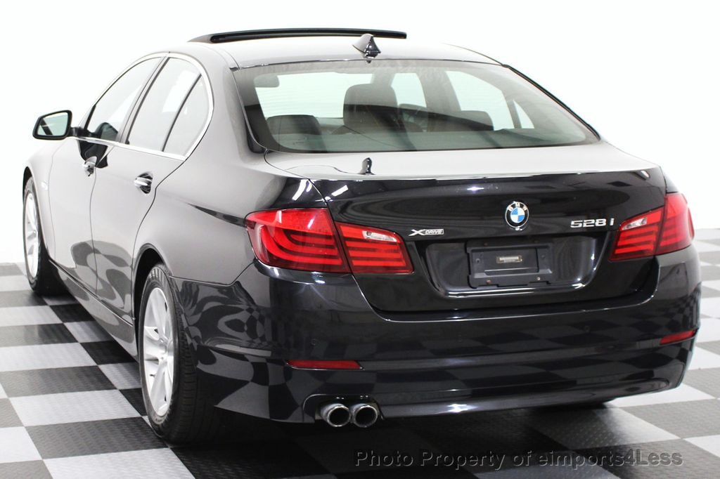 2013 BMW 5 Series CERTIFIED 528i xDRIVE AWD PREMIUM / CAMERA / NAVI - 15310263 - 52