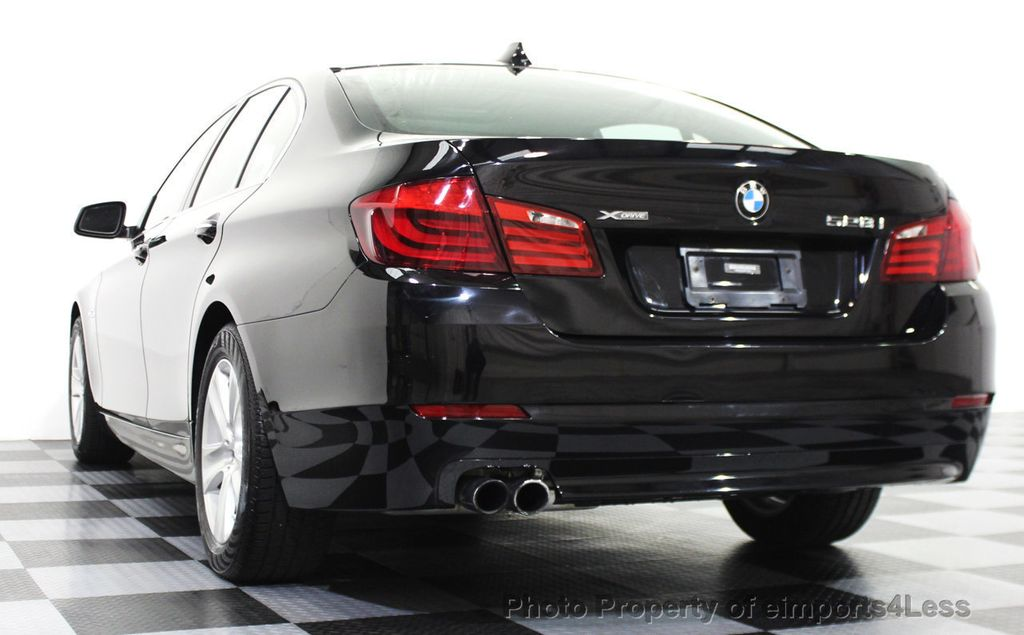 2013 BMW 5 Series CERTIFIED 528i xDRIVE AWD Sedan NAVIGATION - 15565745 - 16