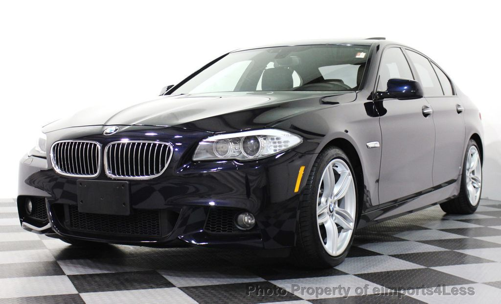2013 used bmw 5 series certified 535i m sport 6 speed manual sedan navigation at eimports4less. Black Bedroom Furniture Sets. Home Design Ideas