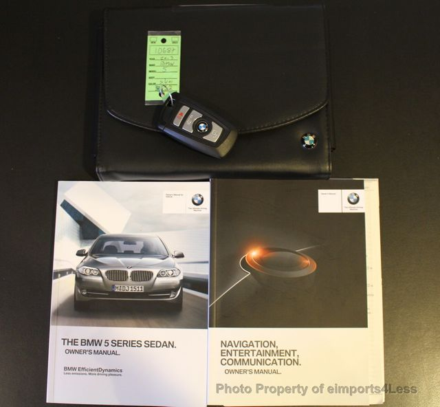 2013 Used BMW 5 Series CERTIFIED 535i SEDAN 6 SPEED MANUAL