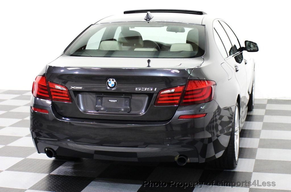 2013 Used BMW 5 Series CERTIFIED 535i xDRIVE M SPORT PACKAGE AWD