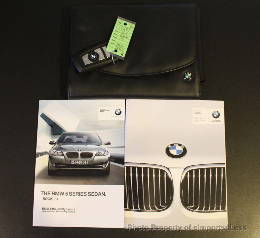 Bmw Xdrive M Sport: 2013 Used BMW 5 Series CERTIFIED 535i XDRIVE M SPORT
