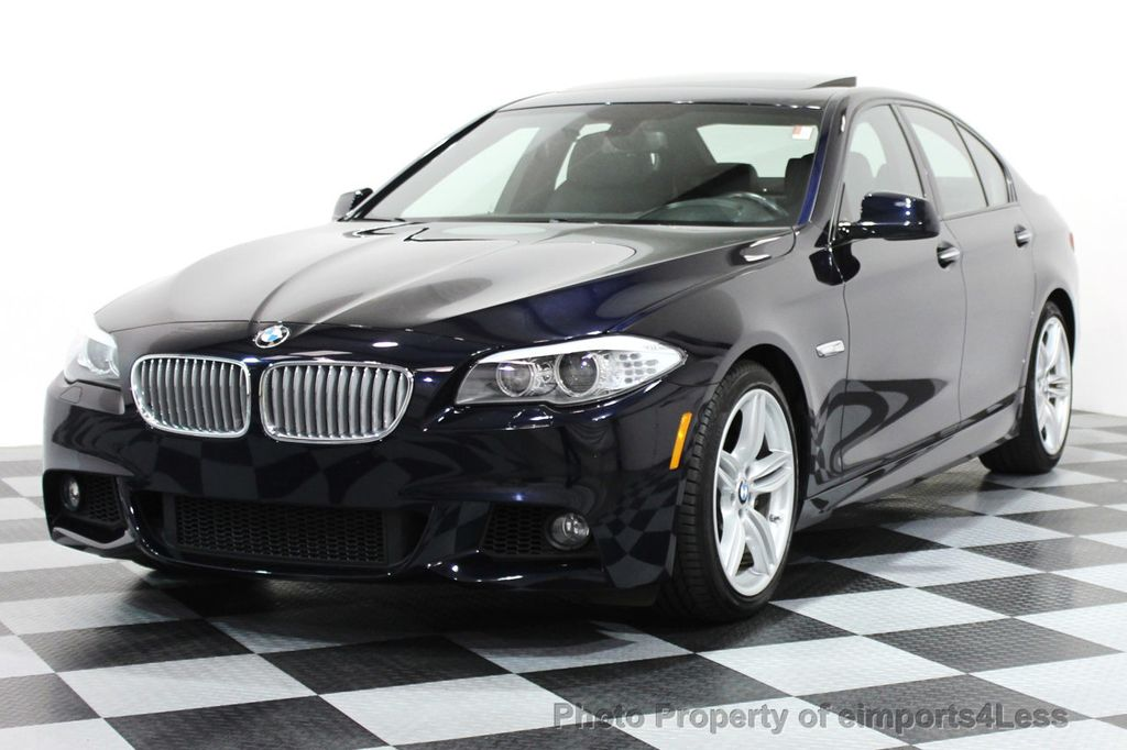 2013 Used BMW 5 Series CERTIFIED 550i M SPORT V8 CAMERA ...