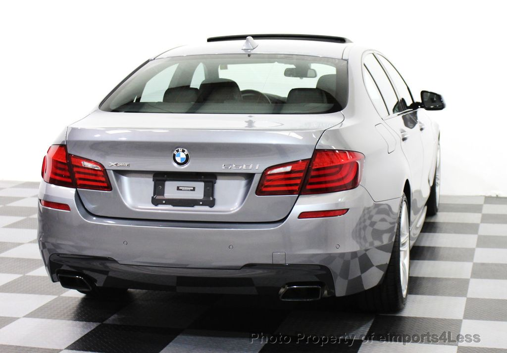 2013 used bmw 5 series certified 550xi m sport xdrive v8 awd driver assist nav at. Black Bedroom Furniture Sets. Home Design Ideas