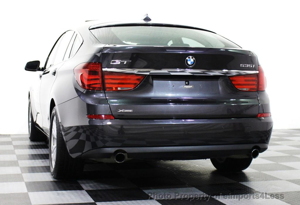 2013 used bmw 5 series gran turismo certified 535xi gt xdrive awd gran turismo driver assist. Black Bedroom Furniture Sets. Home Design Ideas