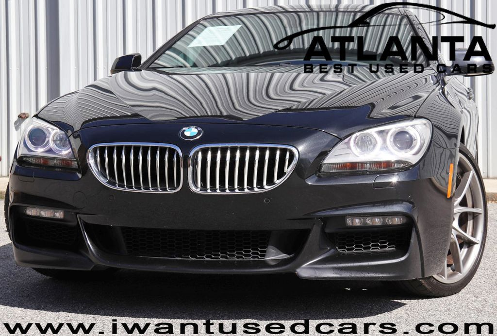 2013 BMW 6 Series 650i Gran with Luxury Seating & M Sport Packages - 18596675 - 0