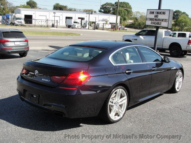 2013 BMW 6 Series BMW 650I-NAV-LEATHER-SUNROOF-HEATED SEATS-BACK UP CAMERA - 16875341 - 4
