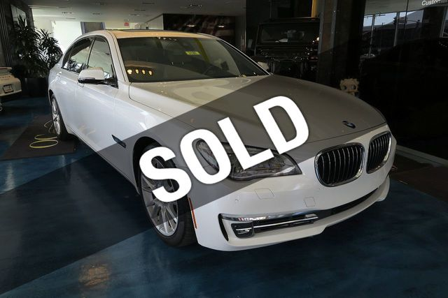 2013 BMW 7 Series ActiveHybrid 7 L