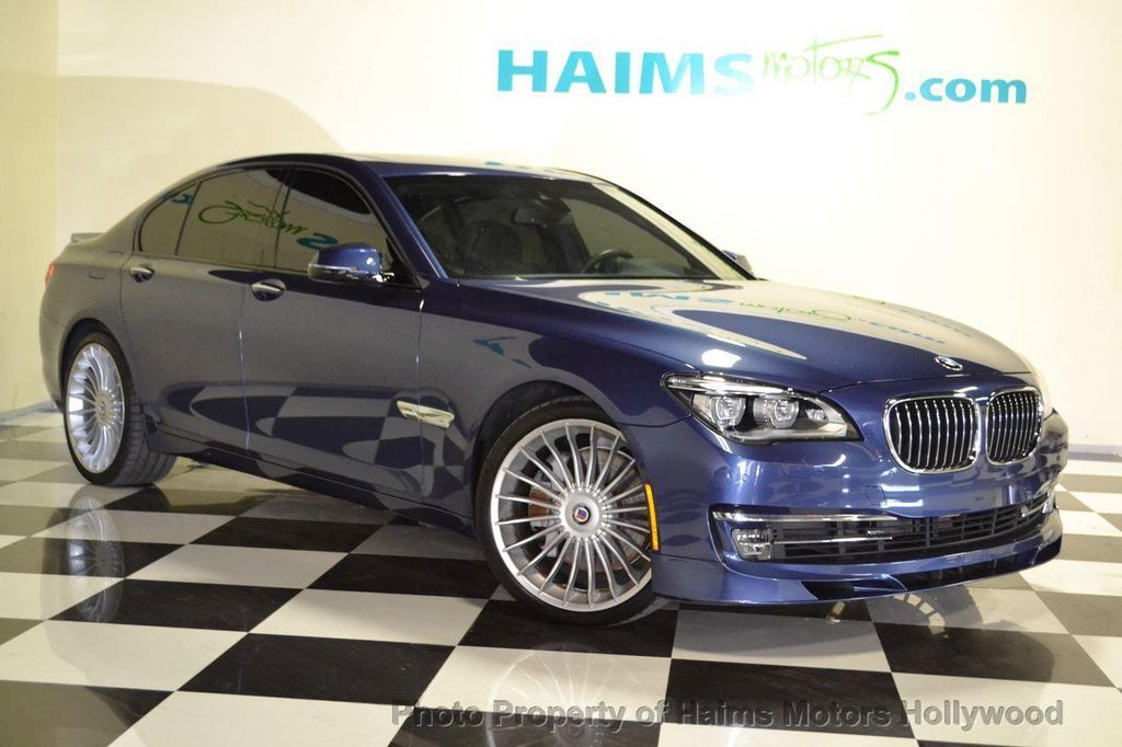 2013 Used Bmw 7 Series Alpina At Haims Motors Serving Fort
