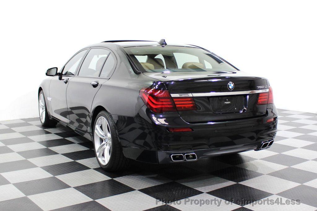 2013 BMW 7 Series CERTIFIED 760Li V12 M Sport Package LEDs CAMERA NAVI - 18240933 - 16